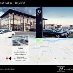 Lokacija Mercedes nova vozila