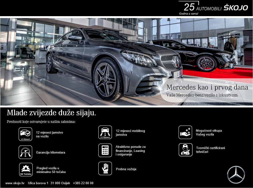 2. rabljeni jamstvo Mercedes