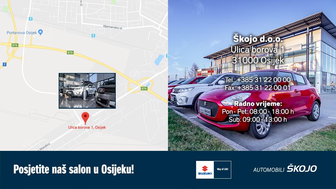 3 Lokacija Suzuki OS