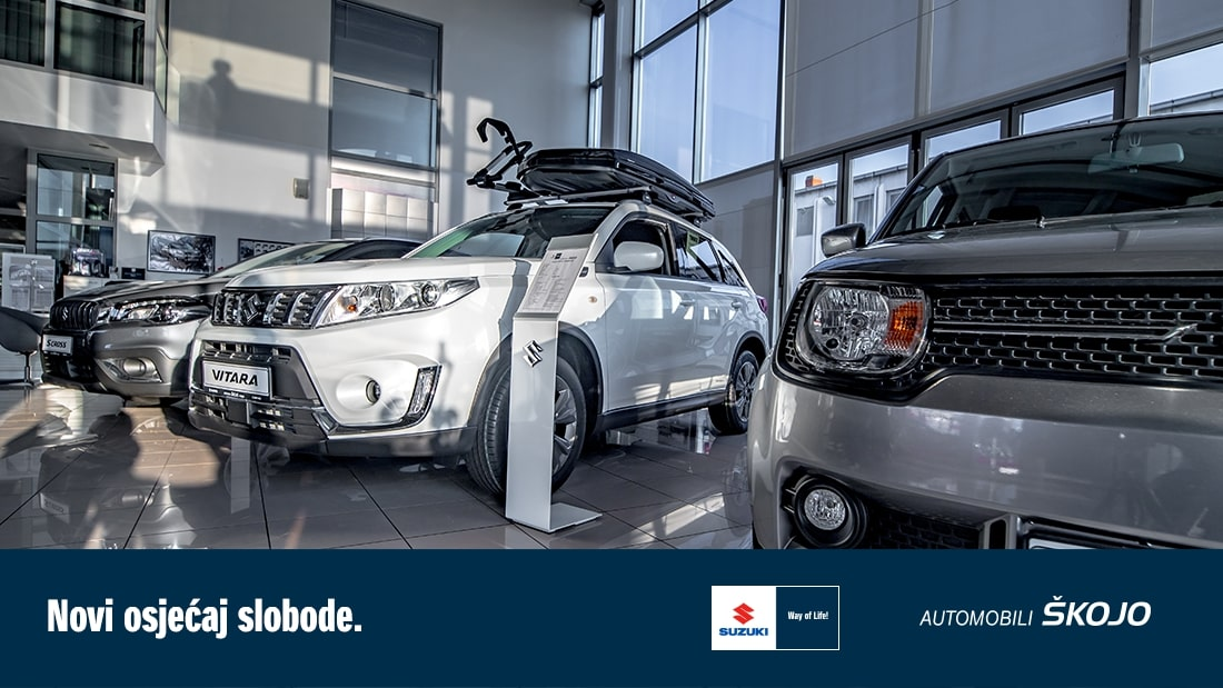 1 Reklama Suzuki